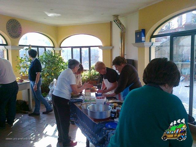 002 Preparzione delle torte