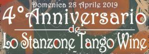 Anniversario de Lo Stanzone tango Wine